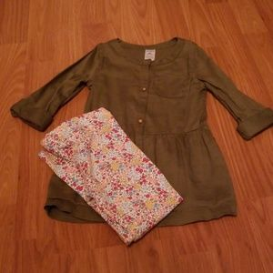 Size 4t Carter's outfit